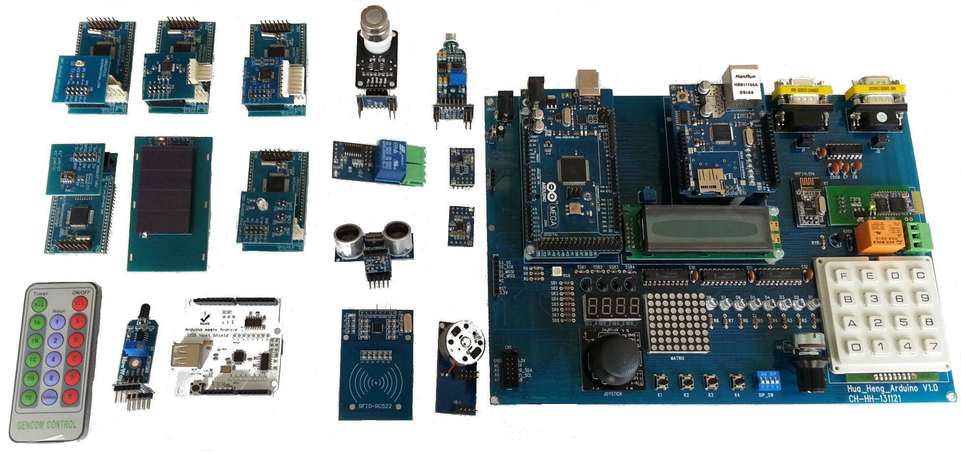 可变电阻 蓝芽bt无线通讯功能 基本感测器硬体: adc vr输入电路功能
